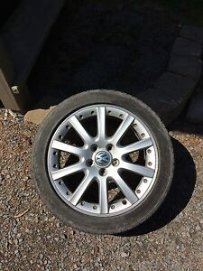 Mag 17p volks avec pneu michelin 225-45-17