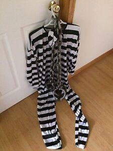 Costume de prisonier