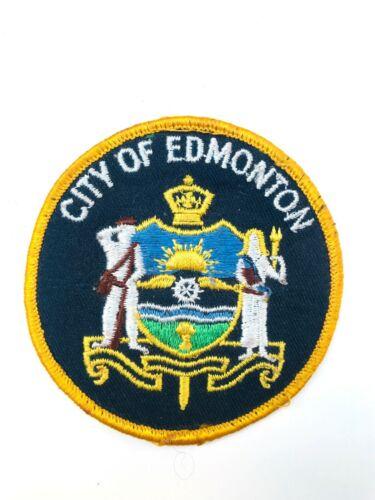 Vintage City of Edmonton (Police Service) Patch / Badge