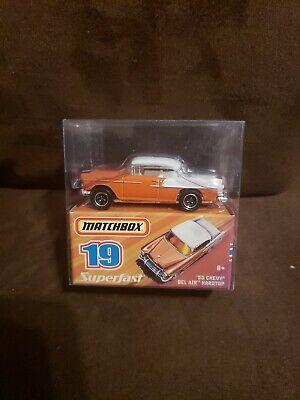 2008 Matchbox Superfast 19 1957 Chevy Bel Air Orange White