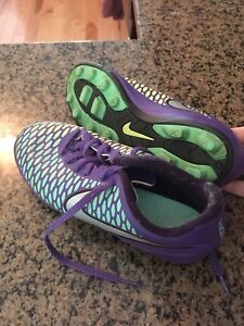 Girls size 4 soccer cleats