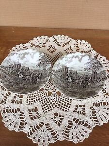 """Two antique """"Royal Mail""""  bowls"""