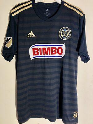 5aa644fbe Adidas MLS Jersey Philadelphia Union Team Navy sz XL