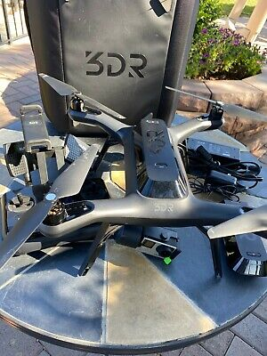 3DR Solo Quadcopter Drone with 2 Batteries a Bag and GoPro HERO 4