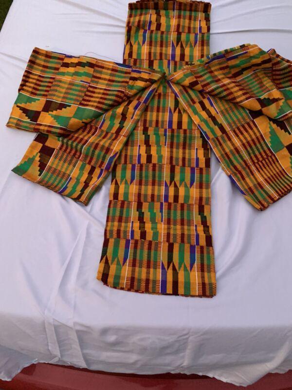 kente cloth fabric