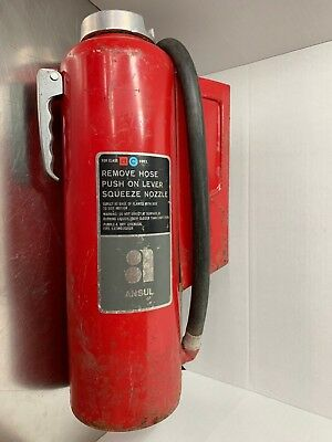 Used, ANSUL Dry Chemical Fire Extinguisher K-20-E Class B C Size 20 Business Home NICE for sale  Rhodes
