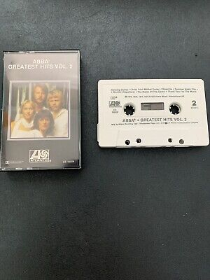 ABBA Cassette Tape Greatest Hits Vol. 2 1979 Atlantic Dancing Queen Chiquita