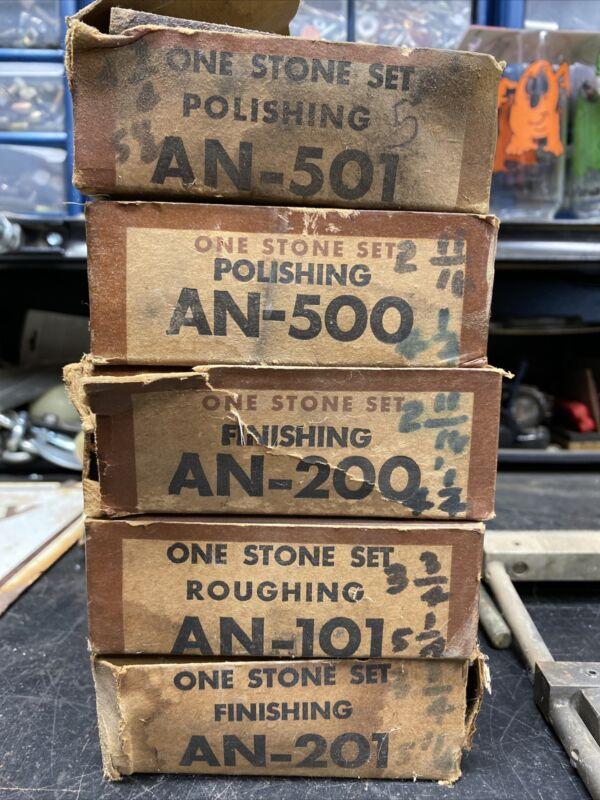 Sunnen Stone Sets & master sets AN-355 AN-365 AN-101, 200, 201, 500, 501 NOS