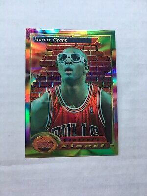 1993 Horace Grant Topps Finest Refractor #101 PSA 10? Chicago Bulls Last Dance