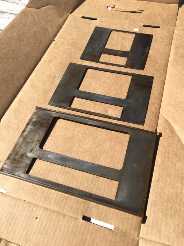 Brown & Sharpe No. 2 Surface Grinder Bed Top Sliding Way Covers