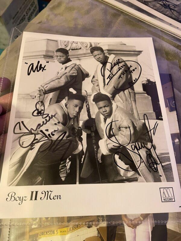 Boys II Men vintage original 4 group members RARE 8x10