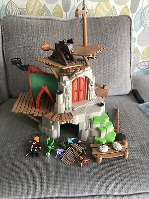 playmobil How To Train Your Dragon Burk Island