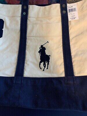 Polo Ralph Lauren Lifes A Beach Tote Bag NWT 98.00  Ralph Lauren Beach Tote