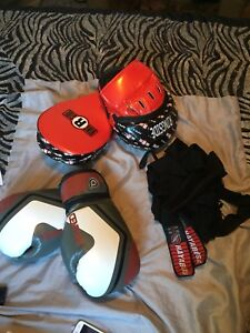 Boxing Gloves, Target Mitts and Wraps