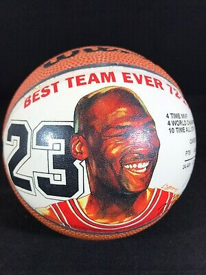Wilson Michael Jordan Chicago Bulls Mini Basketball Best Team Ever