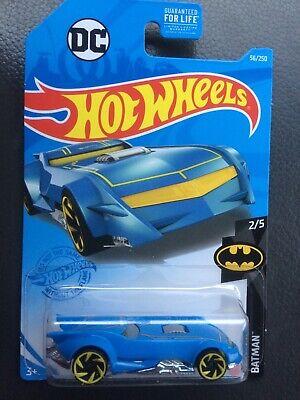Hot Wheels 2021 — The Batman Batmobile (Blue & Yellow) — Free Shipping