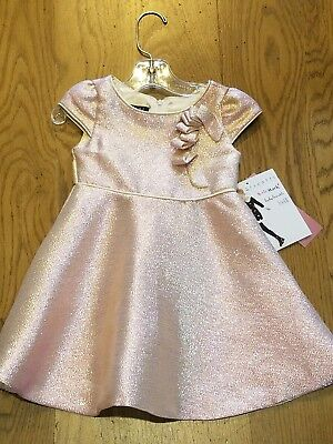 69829d9c8 New Biscotti Collezioni 2018 pink/gold sparkle party dress, 4 toddler, NWT