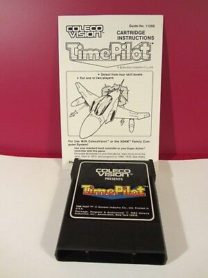 Ind Pilot (Konami Ind. Time Pilot  Game Cartridge & Manual  Colecovision  VGC  (1118DJ18)  )