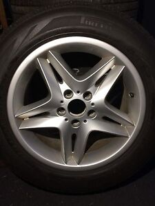 Snow tires and rims ( 2006 BMW X5)