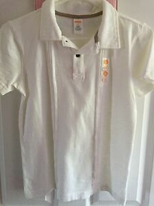 Boys Size 10 white Gymboree shirt