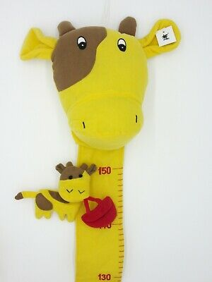 Kinder Messlatte Giraffe Plüsch 150 cm Messleiste Kind Kinderzimmer Dekoration