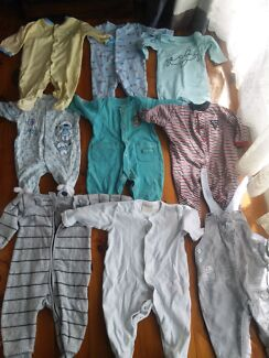 Baby boy clothes 0-6 months  Emu Heights Penrith Area Preview