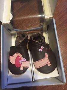 Brand new in box Robeez slippers