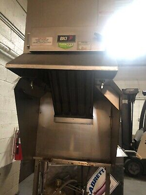 Used Bki Fh-28 Extra Large Vent-less Hood