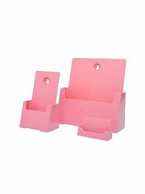 Pink Pamphlet Info Holders Breast Cancer Awareness Value Kit Triple Pack