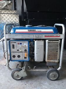 Yamaha ef 5000e generator Helensvale Gold Coast North Preview