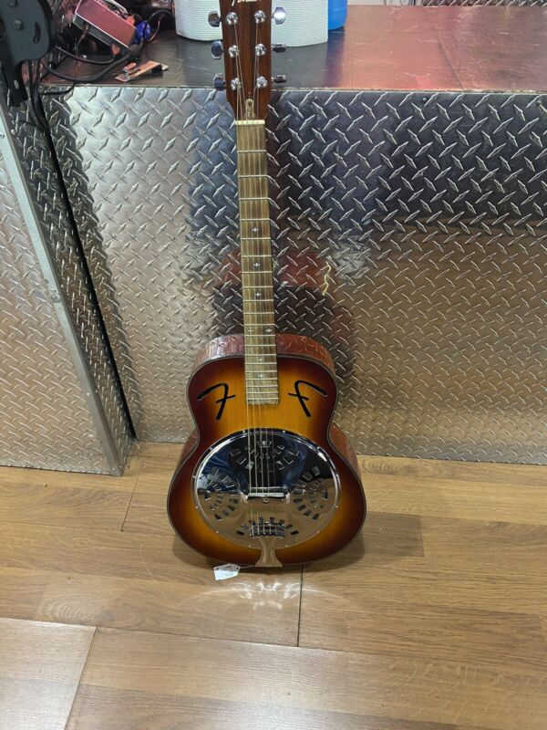 Fender FR50 Resonator Roundneck Guitar Sunburst