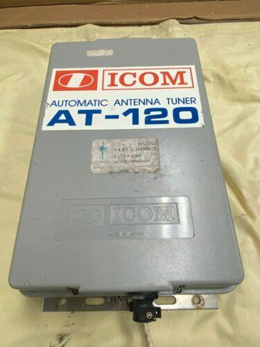 Icom at-120 automatic antenna tuner SSB  single sideband