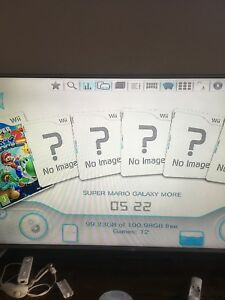 Wii modded lots of games