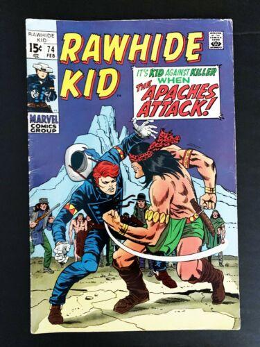 RAWHIDE KID #74 MARVEL COMICS 1970 VF-