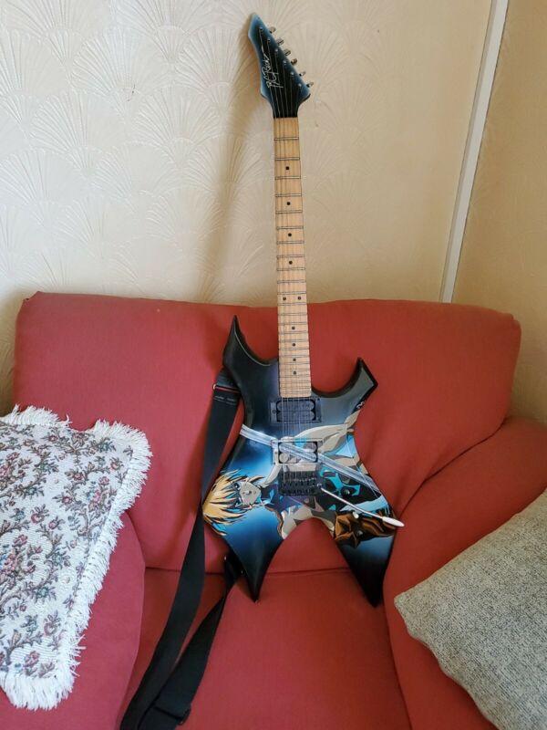 B C Rich Anime Manga Electric Guitar
