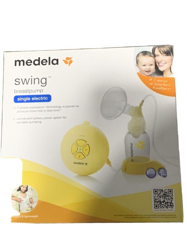 Medela SWING Single Electric Breast Pump Kit Brand New SEALED BOX