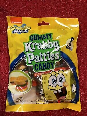 Gummy Krabby Patty (SPONGEBOB SQUAREPANTS KRABBY PATTIES COLORS Gummy)