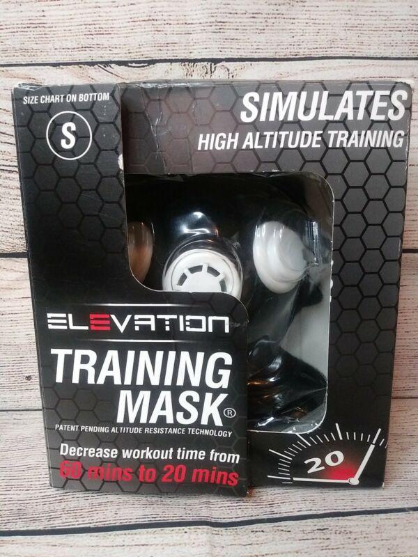 Elevation Athletic Training Mask Simulates High Altitude Size S NIB