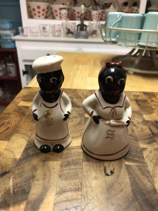 Original Vintage Salt And Pepper Shakers