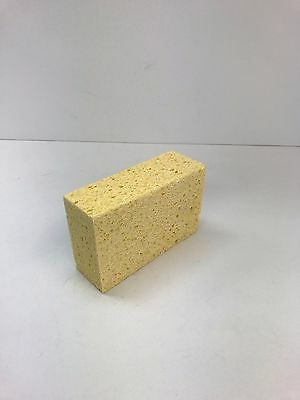 """Case of Commercial Cellulose Sponge, Yellow, 5 1/2"""" L  X  3 1/4"""" W  X 1 1/2"""" H"""