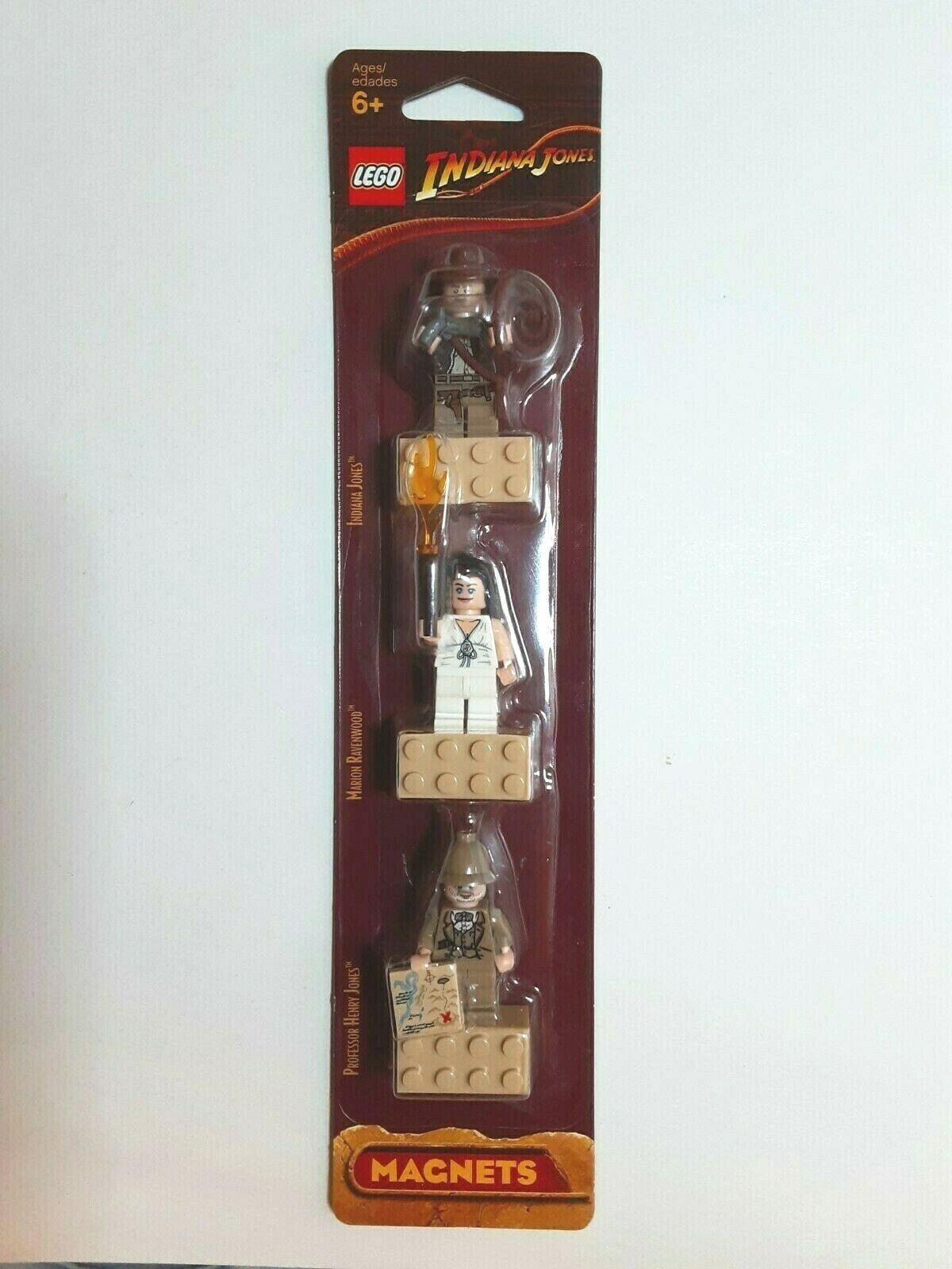 LEGO INDIANA JONES 4548066 MAGNET MINIFIGUREN OVP NEU INDIANA HENRY MARION