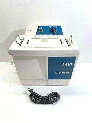 Branson Bransonic 3510r-mth Ultrasonic Cleaner 1.5 Gal Heated With Warranty