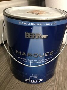 Grey Behr Marquee Paint - 3.7 L