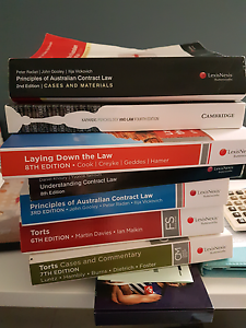 First year law books Coogee Cockburn Area Preview