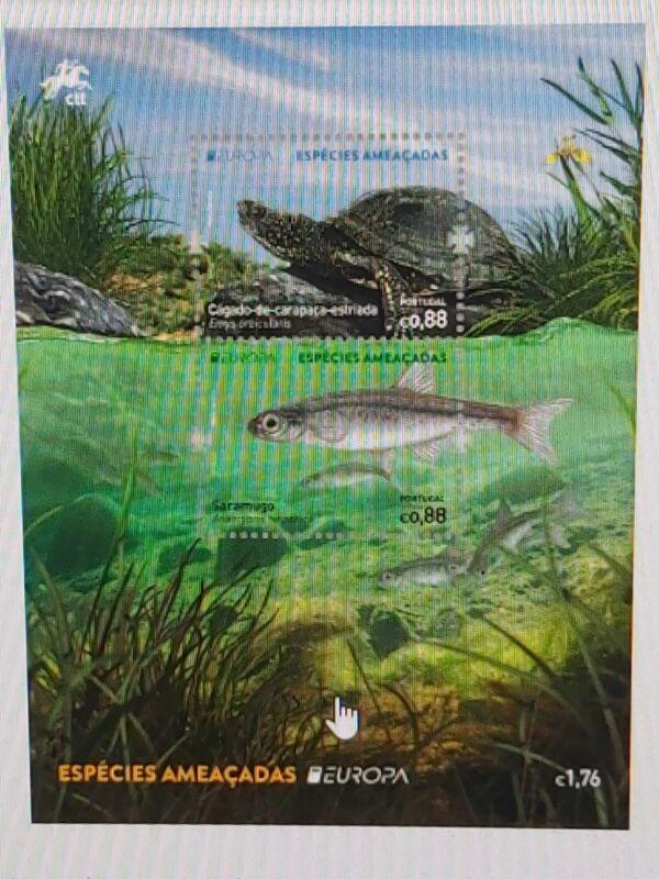 "PORTUGAL  2021 EUROPA CEPT ""Endangered national wildlife""  SHEET MNH"