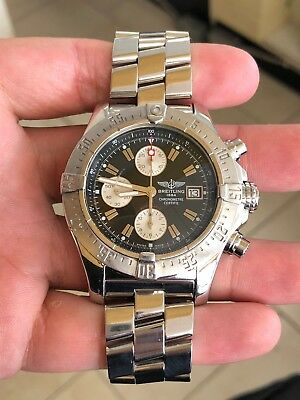 Breitling Avenger Skyland Chronograph A13380 Stainless Steel Men's Wristwatch