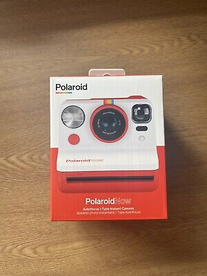 Brand New Polaroid Now iType Instant Camera Red With 8x Pringles Edition Film