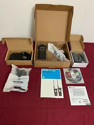 New Motorola Apx7000 Vhf - 7800mhz P25 Digital Handheld Radio Tdma Gps Bluetoth