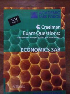 Academic Task Force Exam Questions Economics 3AB