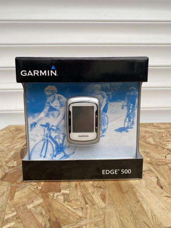 Garmin Edge 500 Cycle Gps Computer Grey Black White  Enduro Road Xc Commuter
